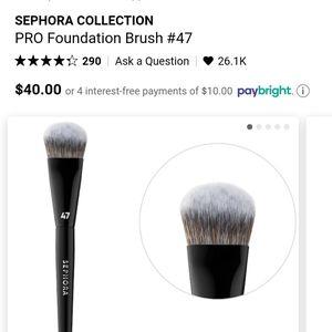 BN #47 Sephora Foundation Brush